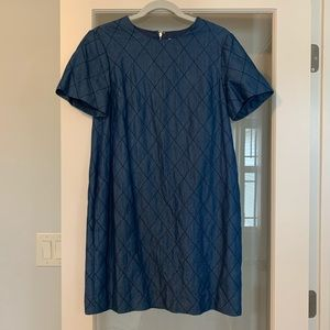 Kate spade quilted denim dress